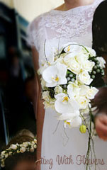 trail bridal bouquet bridal florist