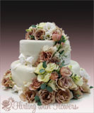 wedding florist cake flowers