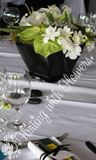 table flowers wedding florist