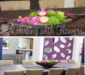 television flowers floral displays